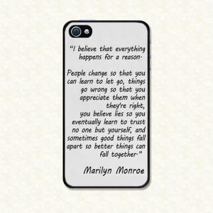 Iphone 5 Cases Marilyn Monroe Quotes Marilyn Monroe Quote -...